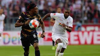 Vorschaubild für    Offenes Visier im Topspiel: Köln und Leipzig trennen sich 1:1