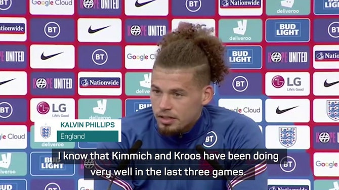Preview image for England's Phillips has watched YouTube videos in preparation for Kroos