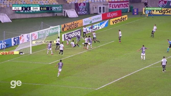 Melhores momentos de Fluminense x Santos