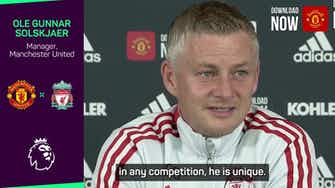 Preview image for Fans should 'enjoy' Salah and Ronaldo while they can - Solskjaer