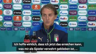 """Vorschaubild für Mancini: """"Erreichen, was mir als Spieler verwehrt blieb"""""""