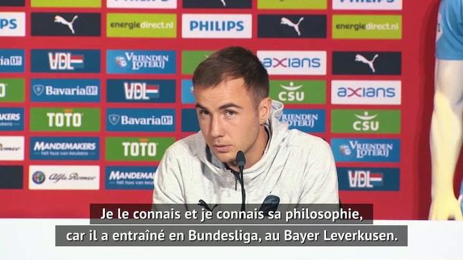 """Image d'aperçu pour PSV - Götze : """"Hâte de jouer pour Schmidt"""""""