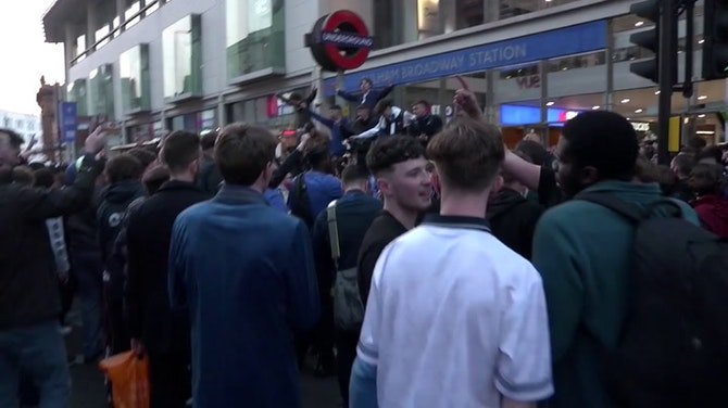 Preview image for Chelsea fans protest as European Super League unravels