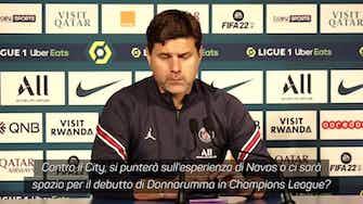 """Anteprima immagine per Pochettino glaciale su Gigio: """"Gioca contro il City? Da decidere..."""""""