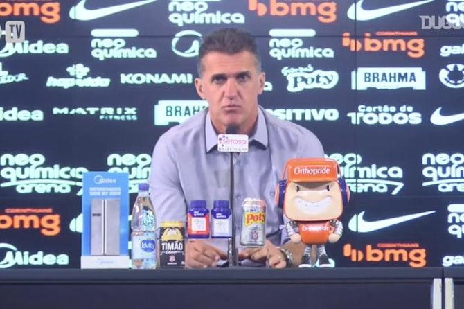 Mancini descarta perda de espaço de Rodrigo Varanda no Corinthians