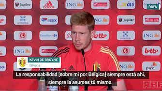 Imagen de vista previa para De Bruyne supera la decepción en la final de la Champions League