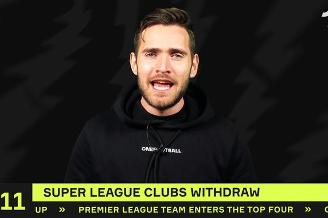 Clubs WITHDRAW from the Super League!