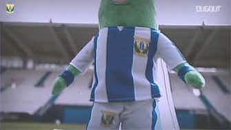 Image d'aperçu pour Leganés lance sa mascotte 'Super Cucumber'