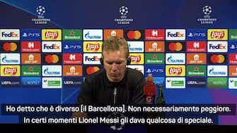 """Anteprima immagine per Nagelsmann sul Barcellona: """"Ha perso un grande come Messi, ma..."""""""