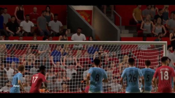 Image d'aperçu pour Man United - Man City : festival d'occasions ratés (FIFA)