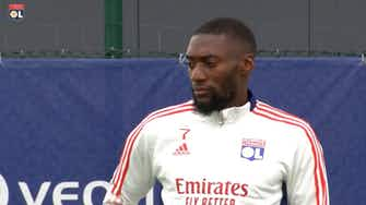 Preview image for Olympique Lyonnais last training session before the trip to Glasgow