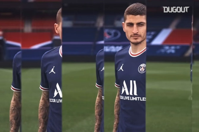 PSG reveal their new jersey for next season