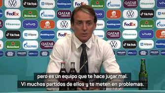 "Imagen de vista previa para Mancini: ""Austria te hace jugar mal"""