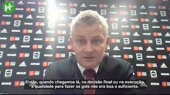 Imagem de visualização para Solskjaer lamenta derrota do United e diz que empate seria mais justo