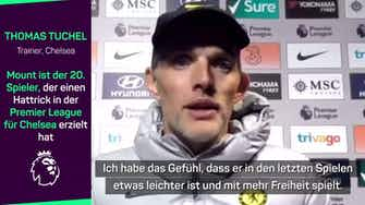 """Vorschaubild für Tuchel über Hattrick-Mount: """"Ein Top-Typ"""""""