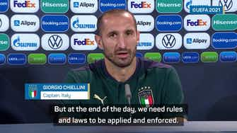 Preview image for Chiellini 'felt shame as an Italian' after Fiorentina-Napoli racism