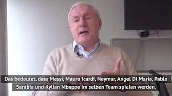 Vorschaubild für Ex-PSG-Star zweifelt an Sinn von Messi-Transfer