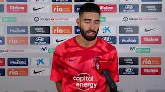 """Imagen de vista previa para Carrasco: """"Me voy mano a mano con el portero y el árbitro pita el final"""""""