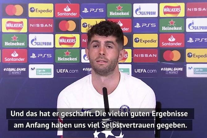 """Pulisic: """"Tuchel will immer gewinnen"""""""