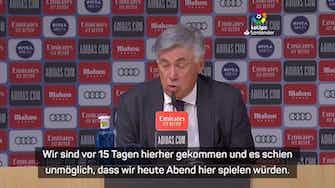 """Vorschaubild für Ancelotti: """"Atmosphäre im Bernabeu immer besonders"""""""