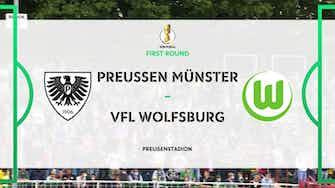 Preview image for Highlights - Preussen Münster vs. VfL Wolfsburg