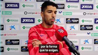 """Imagen de vista previa para Suárez: """"Por la crítica no voy a cambiar mi forma de jugar"""""""