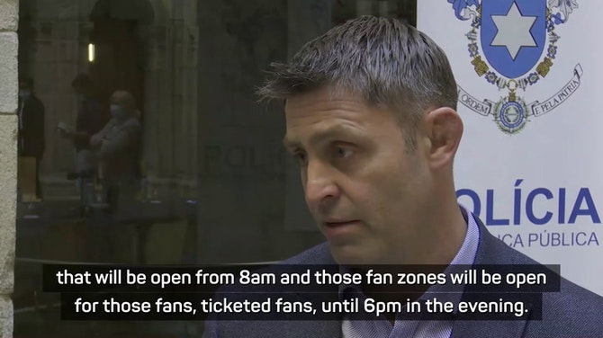 Fan zones set up by police for Champions League final