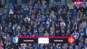 Vorschaubild für 1. FC Magdeburg - FC Würzburger Kickers (Highlights)