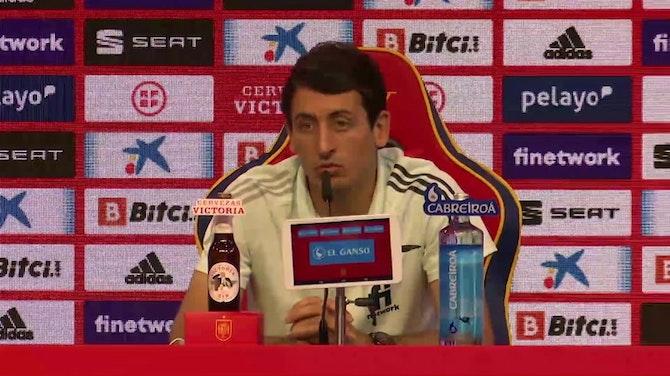 """Imagen de vista previa para Oyarzabal, sobre las críticas a la selección: """"Nosotros no hemos tenido dudas"""""""