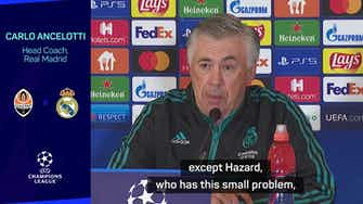 Preview image for Real motivated for Shakhtar fixture but will be without Hazard