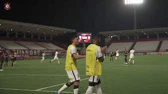 Imagem de visualização para Gol de Gabriel Pereira no empate do Corinthians com o Atlético-GO