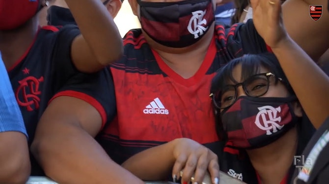 Preview image for Flamengo's last training session before Defensa y Justicia clash