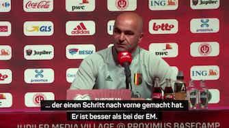 """Vorschaubild für Martinez: """"Hazard ist besser als bei der EM"""""""