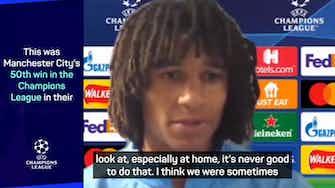 Preview image for Goalscorer Ake not happy despite Man City's 6-3 win