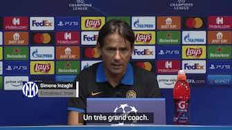 """Image d'aperçu pour  Inter - Inzaghi : """"Ancelotti est l'un des plus grands entraîneurs de l'histoire"""""""