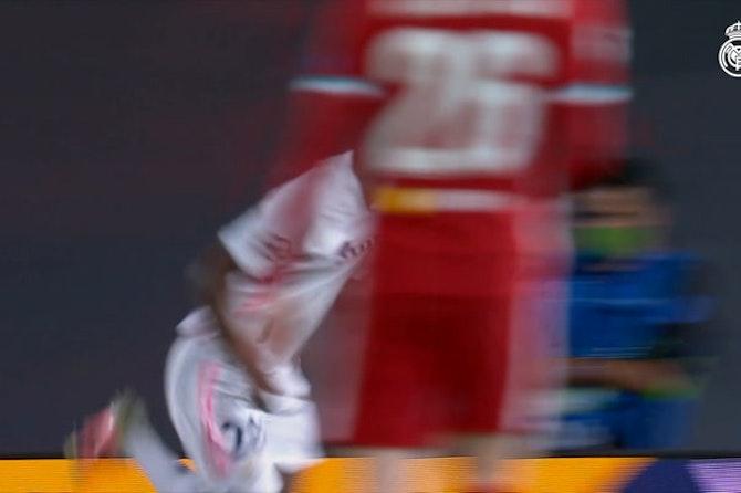 Vinicius Jr's brace against Liverpool
