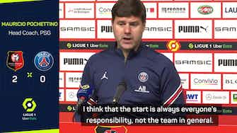 Preview image for Pochettino frustrated as PSG falter in surprise defeat to Rennes
