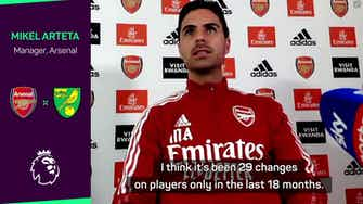 Preview image for Arsenal's squad changes 'necessary' says Arteta