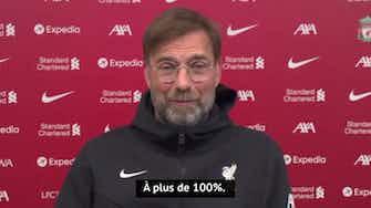 """Image d'aperçu pour 34e j. - Klopp : """"C'est clair, nous devons gagner contre Manchester"""""""