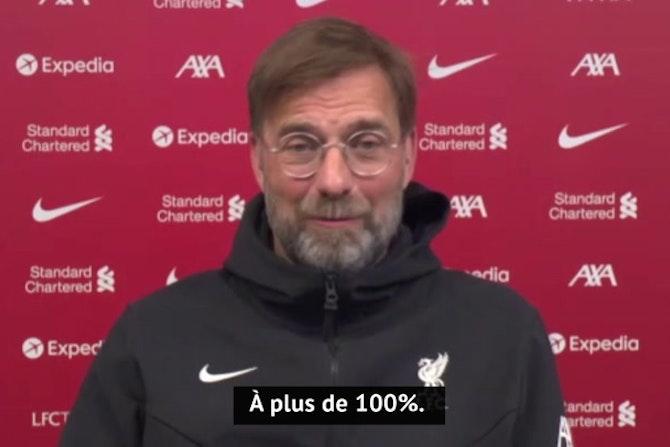 """34e j. - Klopp : """"C'est clair, nous devons gagner contre Manchester"""""""
