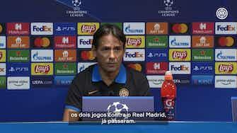 """Imagem de visualização para Inzaghi ignora derrotas recentes da Inter para o Real: """"escrever uma nova história"""""""