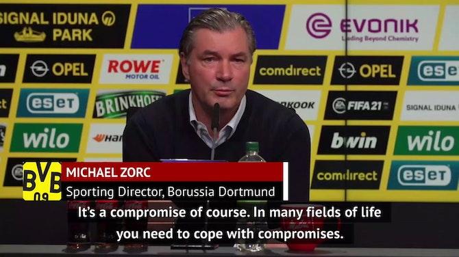 Zorc criticises UEFA's Champions League reform
