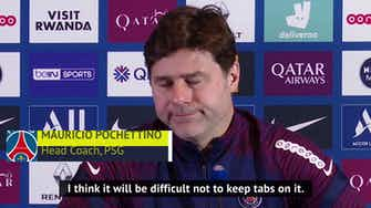 Preview image for Poch undecided on giving PSG players title race score updates