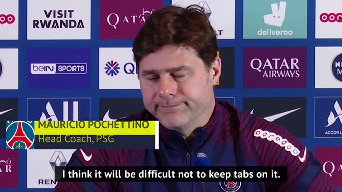 Poch undecided on giving PSG players title race score updates