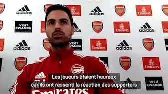 """Image d'aperçu pour Arsenal - Arteta : """"La lumière au bout du tunnel"""""""