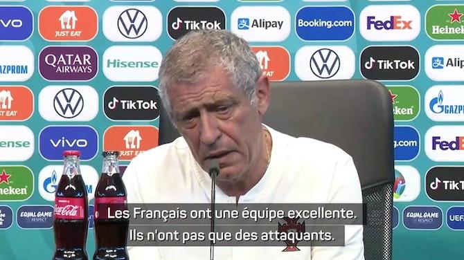 Image d'aperçu pour Groupe F - Santos et Pepe confiants avant le choc contre la France