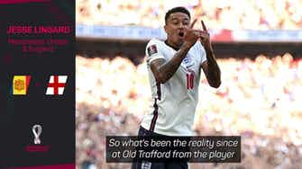 Preview image for Lingard already benefitting from Ronaldo arrival