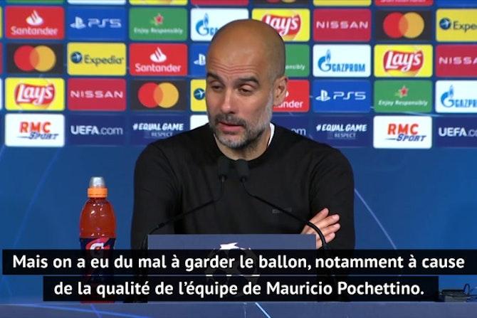 """Demies - Guardiola : """"Être plus agressif et fluide"""""""
