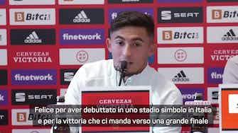 """Anteprima immagine per Pino: """"Che debutto a San Siro! E mancavano Pedri e Ansu..."""""""