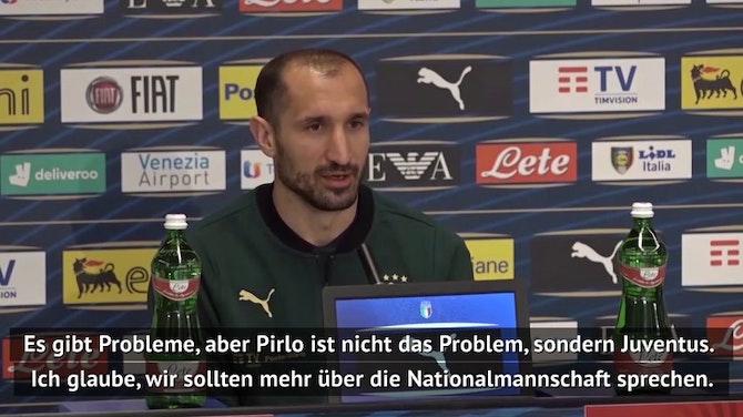 """Vorschaubild für Chiellini: """"Pirlo ist nicht das Problem"""""""